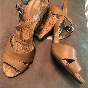 Anne Klein Flex Sandals SZ 8